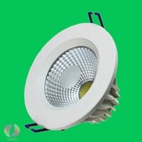 Free Shipping 7W Dimmable COB LED Downlight Equal To 75W Incandescent Bridgelux Chip Warranty 3 Years Dimmable COB LED Bulb