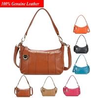 Newest Genuine Leather Handbags Women  Handbag Shoulder Bags black Shopping Bag Purses BH5614+Free Shipping