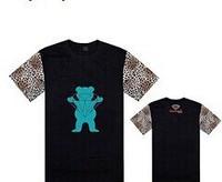 2014 Diamond GRIZZLY GRIP T-Shirts Hip Hop Short sleeve Round Neck Brand Men's Casual  Sweatshirts Streetwear Good quality