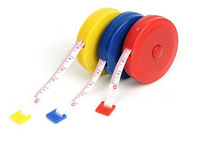 Free shipping Convenient and practical retractable tape measure plastic tape measure clothing feet soft feet Wholesale