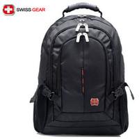 "Swiss army knife backpack laptop bag SA9393 male ms 15 ""laptop bag student backpack bag"