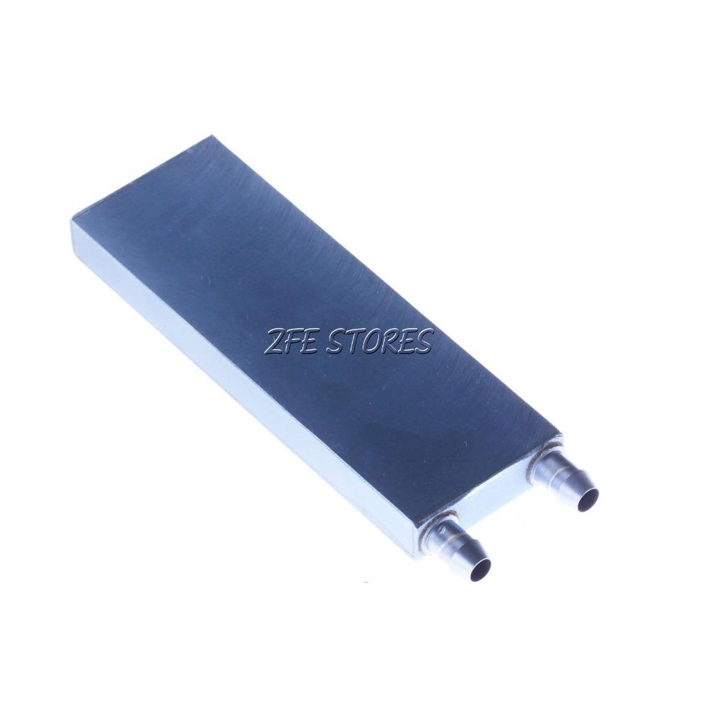 Novo 2 Pcs CPU água de resfriamento bloquear Waterblock líquido refrigerador de alumínio 82 * 40 * 12 mm grátis frete(China (Mainland))