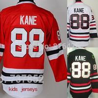 Cheap #88 Youth Patrick Kane Jersey Hockey Chicago Blackhawks Kids Jerseys Children Red White Final Champions Best Stitched Free