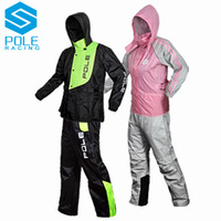 2014 new fashion casual sports motorcycle riding clothes rain poncho raincoat rain pants suit split male and female models