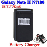 New USB Output AC Wall Battery Charger For Samsung Galaxy Note 2 III N7100 N7105 GT-N7100 GT-N7105, 20 pcs/lot