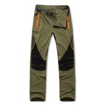 2014 new summer pants men outdoors Hiking rock climbing pants men's high quality trousers quick dry anti-uv Summit Series brand(China (Mainland))