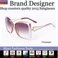 F.D.A Fashionable Crystal Sunglasses Women Brand Designer 2015,High-definition Advanced CR39 Lens Oculos de sol feminino Vintage