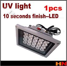 1 unids 20 bombillas LED UV LOCA pegamento sin sombras curado / lámpara / seco par