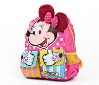 Children mickey minnie kindergarten backpacks kids cartoon school bags toddler gift boys girls shoulder satchels free shipping