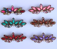factory Fashion jewery 2014 hot new women flower hair accessories alloy hair jewelry pearl crystal hair clip  barrettes Headwear