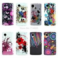 National TPU Silicon Phone Case Shell for Google LG Nexus 5 Nexus5 E980 Back Cover Skin Etui Polka Dots Flag S X Line D820 D821