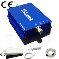 3G Signal Cell Phone Signal Expand Booster Mobile Phone2100mhz 3G Signal Repeater Set  Russian Free Shipping