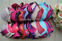 Celebrity New Women Padded Bra Racerback Top Athletic Vest Gym Fitness Sports Bras Yoga Dance Bra Tank Tops Free Shipping RB5