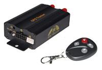 New Rastreador GPS Tracker Vehicle Car Blocker With Remote Control GSM Alarm System SD Card Slot Anti Theft Tk103b 103b