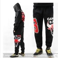 2014 New fashion Mens clothing autumn winter Trousers Hip Hop Dance Sport loose joggers basketball Pants harem cotton sweatpants