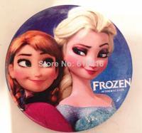 2014 Frozen Cartoon Pin Badge 4.5cm Anna Elsa Princess Olaf Costume Cosplay Boys Girls Toy Fashion Badges Free Shipping