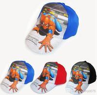Fashion summer children accessories baseball caps trucker hat fashion baby panama sun hats winx club spider-man cap hat 8896