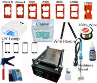 Newest 2014 Built-in Vacuum Pump Separator LCD Display Touch Screen Glass Separator Repair Machine Tool Kit for iPhone 6 Samsung