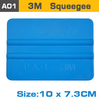 car styling tools car vinyl film wrapping tool plastic scraper squeegee 3m with size 10x7.3cm drop shopping