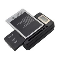 2014 New High Quality Mobile Phone Charger Universal Battery Charger With LCD Display And 1250mA USB Output
