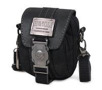 Free Shipping Multifunctional Canvas Waist Packs For Men Fashion Small Shoulder Messenger Bag Belt Purse 2 colors