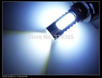 1 x T25 3157 P27/7W LED 7.5W High Power Lamp car Fog Head Bulb auto Vehicles parking Turn Signal Reverse Tail DRL Lights White