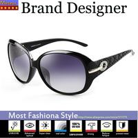 UVA UV400 New plastic Fashion 2015 Oval Glasses with box,advanced Polycarbonate Lens Womens Sunglasses Brand Designer Dig Frame