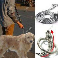 S5M Training Dog Collars Snake P Choke Metal Chain Collar For Medium Large Dog 55cm
