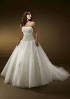 High Quality Custom Beading Wedding Dress TP6602