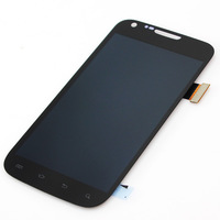 Black LCD display touch screen with digitizer assembly Replacement for Samsung galaxy s2 T989,  Free shipping!!