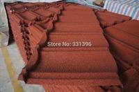 Colour sand metal tile  Metal roof tiles  Villa color tile  Color tiles