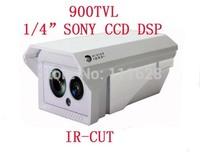 "Wholesale - New 1/4"" SONY CCD DSP HD 900TVL Weatherproof Camera Outdoor IR CCTV Security Camera 4/6/8/12/16mm Lens"