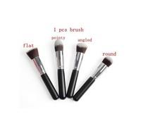 4pcs  Brush! Hot Sale Fashion Excellent Liquid Foundation Powder Brush Facial Care Face Cosmetics Makeup Brushes
