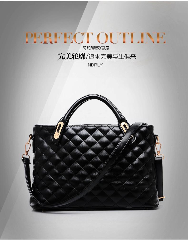 New Arrival 2014 Fashion Women's Plaid Cross Handbag Trend One Shoulder Cross-body Bags Women Messenger Tote Free Shipping(China (Mainland))