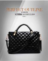 New Arrival 2014 Fashion Women's Plaid Cross Handbag Trend One Shoulder Cross-body Bags Women  Messenger Tote Free Shipping