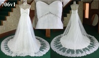 french lace with cowl  beading wedding dresses