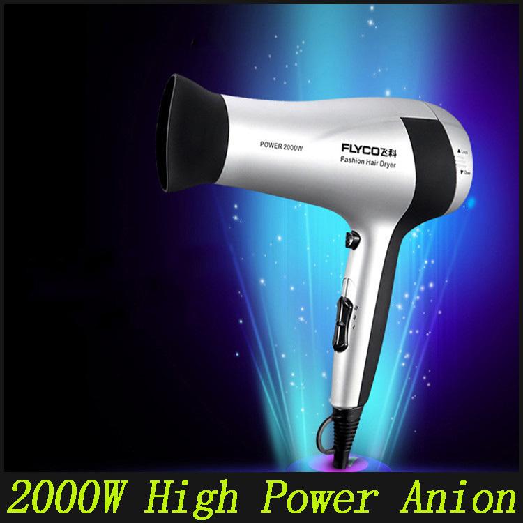 FH6318 Negative Ionic Hair Dryer 2000w Professional Hairdryer For Salon EU / US / UK / AU Plug(China (Mainland))