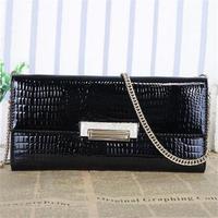 Hot women wallet new women handbag genuine leather bags fashion clutch shoulder bags 2015 trendy women messenger bags crossbody