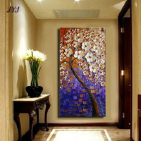 Thick Textured Baroque Style  Modern Hand painted  Palette Knife Oil Painting  Canvas  Wall Art  Gift ,Home Decoration XDH110