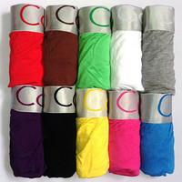 Cotton!Men boxers,men underwear, High quality 10pcs Men's Boxer Shorts Mens Boxers men's Underwear Cueca Wholesale Free Shipping