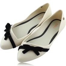 Hong Kong compras moda brasileira Melissa Melissa jelly cabeça sapatos toe sandálias arco(China (Mainland))