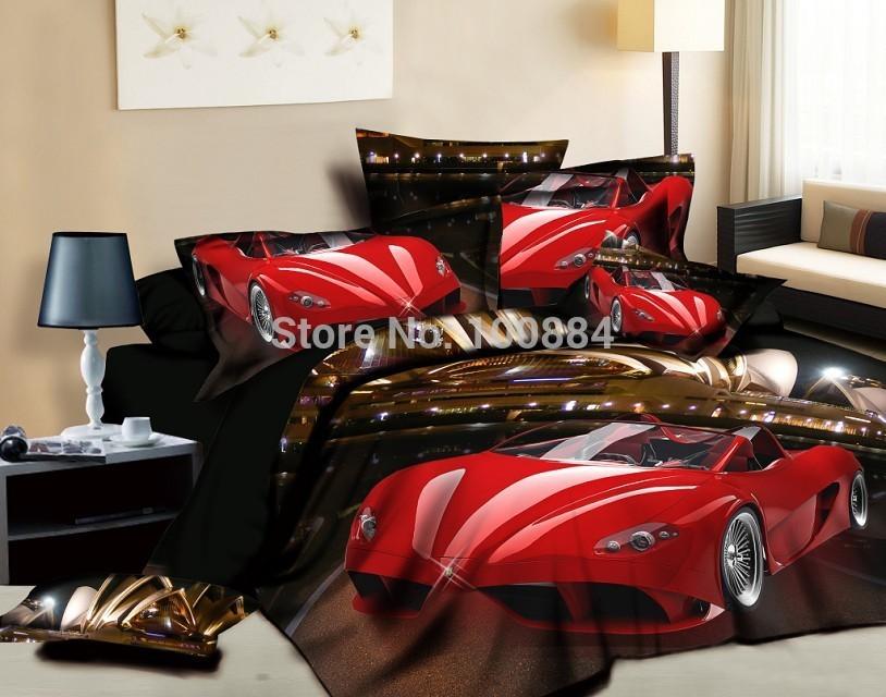 Achetez en gros voitures de la literie en ligne des - Housse de couette voiture de sport ...