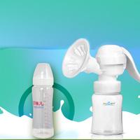 Manual breast pump PP material milker compatible  pump top quality
