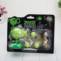 1piece PVZ Plants vs Zombies Snow Pea PVC Action Figure Model Toy Class Toys Christmas Gifts