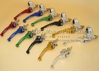 ASV  Clutch & Brake Folding Lever Fit Most Motorcycle ATV Dirt Pit Bike WR CRF KLX YZF RMZ Free Shipping
