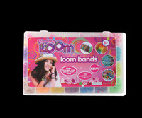 Free Shipping Hot Loom Bands Set Refill Kits Rubber Bands Bracelet DIY Children Toy Gift