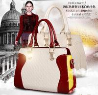 Promotion fashion leather handbags 2014 new wave of female crocodile pattern handbag shoulder bag women messenger bag b140P0