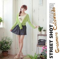 New 2014 Korean Woman Chiffon skirt Pleated Girls Skirts Short Skirts Women saias femininas skirt without Belt