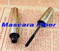 Wholesale,Gold tube Mascara Fiber for Lengthening Extension Eyelash Eye Lash( using with any mascara),100pcs/lot, fredd shipping