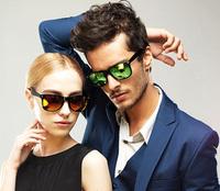 New 2014 Brand color eyeglass lenses retro vintage fashion sunglasses men women